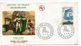 France N° 1484 Y. Et T. Paris Cachet Commémoratif Salon De L'enfance Du 31/10/1966 - Postmark Collection (Covers)