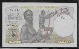 A.O.F. - 10 Francs - Pick N°37 - SUP/SPL - Autres - Afrique