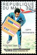 Mali 0933aar EMS Transport Du Courrier Par Avion Postadex - Airplanes