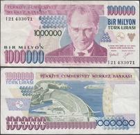 TURKEY - 1 Million Liras 1995 P# 209 Europe Banknote - Edelweiss Coins - Turchia