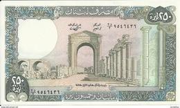 LIBAN  250 LIVRES 1988 UNC P 67 E - Liban