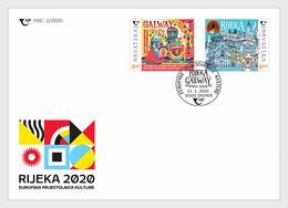 Kroatië / Croatia - Postfris / MNH - FDC Joint-Issue Met Ierland 2020 - Croatia