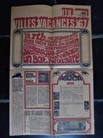 Châtelet 1967 Programme RTB Villes Vacances 67 - Programma's