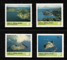 New Zealand 1974 Islands Set Of 4 MNH - Ongebruikt