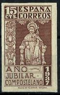España Nº 833s Charnela. Cat.10€ - 1931-50 Unused Stamps