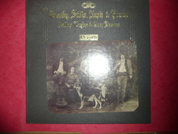 LP N°1570 - CROSBY, STILLS, NASH & YOUNG - DEJA VU - COMPILATION 12 TITRES ROCK FOLK COUNTRY - Rock