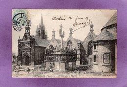 29 GUIMILIAU Le Calvaire Et L'Eglise - Guimiliau