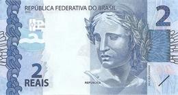 BRESIL 2 REAIS 2010 UNC  P 252 A - Brazil