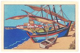 Cpa Saintes Maries De La Mer - Barque De Pêcheurs ( Genre Pertus ) ( ILL ) - Saintes Maries De La Mer