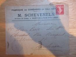 St Sulpice Sur Leze M Schevenels Cordages 1914 - Francia