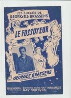 (50) GEORGES BRASSENS ,  LE FOSSOYEUR - Scores & Partitions