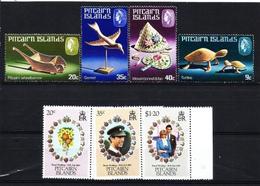 Islas Pitcairn (Británicas)  Nº 190/3-202/4 En Nuevo - Islas De Pitcairn