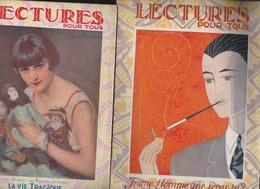 LECTURE POUR TOUS   ANNEE 1927 02//03/04/06/07/08/09/10/11 - Journaux - Quotidiens