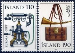 Cept  Europa 1979 Ijsland Iceland Islande Yvertn° 492-93 *** MNH Cote 5 Euro - Neufs