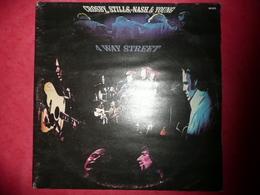 LP N°1574 - CROSBY,STILLS & NASH - 4 WAY STREET - COMPILATION 2 LP 17 TITRES ROCK FOLK COUNTRY - Rock