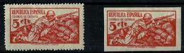 España NE-46/46s Charnela. Cat.49€ - 1931-50 Unused Stamps