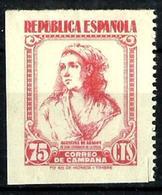 España NE-53 Sin Goma. Cat.45€ - 1931-50 Unused Stamps