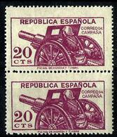 España NE-48 Nuevo. Cat.44€ - 1931-50 Unused Stamps