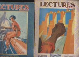 LECTURE POUR TOUS ANNEE 1928 01/02/03/05/078/09/10/11/12 - Journaux - Quotidiens