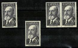 España Nº 1165 Nuevos. Cat.56€ - 1951-60 Nuevos & Fijasellos