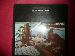 LP N°1575 - CROSBY,STILLS & NASH - CSN - COMPILATION 12 TITRES ROCK FOLK COUNTRY - Rock