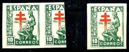 España Nº 1008s Charnela. Cat.17€ - 1931-50 Unused Stamps