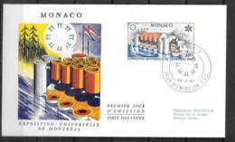 1967 - 76 - 727 - Expo Montréal - FDC