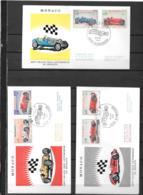 1967 - 75 - 708 à 721- 25° Grand Prix De Monaco - FDC