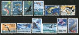 Territoire Antarctique Australien (AAT) , Yvert 23/34**, Scott L23/L34**, SG 23/34**, MNH - Territoire Antarctique Australien (AAT)