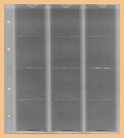 KOBRA 10x Münzblätter F12L (ohne Zwischenblatt) Für 12 Münzen Bis 44 Mm Ø (z.B. 5, 10 DM, 10, 20 €) - Zubehör