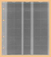 KOBRA 10x Münzblätter F30L (ohne Zwischenblatt) Für 30 Münzen Bis 25 Mm Ø (z.B. 10, 50 Pf., 1 DM, 5, 20 Ct, 1 €) - Zubehör