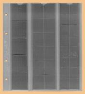 KOBRA 10x Münzblätter F33L (ohne Zwischenblatt) Für 33 Versch. Große Münzen - Zubehör