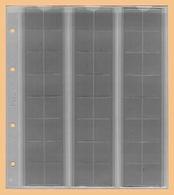 KOBRA 10x Münzblätter F48L (ohne Zwischenblatt) Für 48 Münzen Bis 17 Mm Ø (z.B. 1, 2, 5 Pf., 1, 2, 10 Ct) - Zubehör