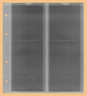 KOBRA 10x Münzblätter F4L (ohne Zwischenblatt) Für 4 Münzen Bis 72x80 Mm - Zubehör