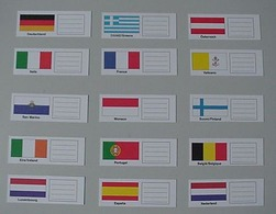 KOBRA 10x Länderschildchen San Marino - Zubehör