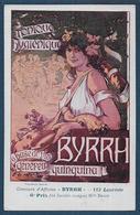 """Concours  """" BYRRH """"  -  Mlle BRIOT - ( Carte Authentique Pas Repro ) - Ilustradores & Fotógrafos"""