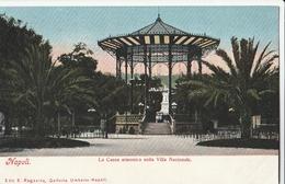 Cartolina - Postcard / Non  Viaggiata - Unsent /  Napoli, Cassa Armonica. - Napoli (Naples)
