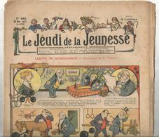 JC , LE JEUDI DE LA JEUNESSE ,n° 423 ,1912 ,frais Fr 2.45 E , Journal Sup : + 1.00 E - Journaux - Quotidiens