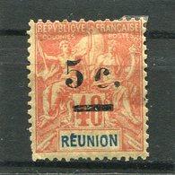 REUNION  N°  52 *  (Y&T)  (Charnière) - Ongebruikt