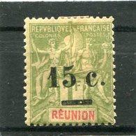 REUNION  N°  55 *  (Y&T)  (Charnière) - Ongebruikt