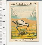 Chromo Chocolat De L'Union Les Nids Oiseau Nid Avocette  IM 5/380 - Other