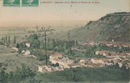VAUX EN BUGEY - QUARTIER DE LA MAIRIE ET ROUTE DE LA GARE - Andere Gemeenten