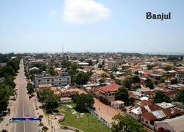 Gambia Banjul View New Postcard - Gambie