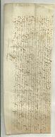 TRES VIEUX MANUSCRIT De 1587 à DECOUVRIR - Manuscrits