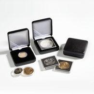 Münzetui NOBILE, 32 Mm, Schwarz - Zubehör