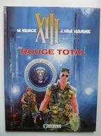 XIII, Rouge Total, En TTBE - XIII