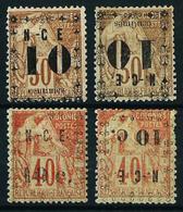 Nueva Caledonia Nº 12/13-12a/13a*/(*) Cat.106€ - Unused Stamps