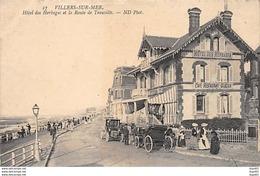 VILLERS SUR MER - Hôtel Des Herbages Et La Route De Trouville - Très Bon état - Villers Sur Mer