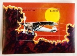 Sierra Leone 1999** Airplanes ,  Aircrafts , MNH [21;154] - Airplanes