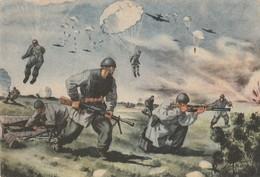 """Cartolina - Postcard / Non  Viaggiate - Unsent /  In Franchigia  F 45/4 """" Forze Armate """" - Guerre 1939-45"""